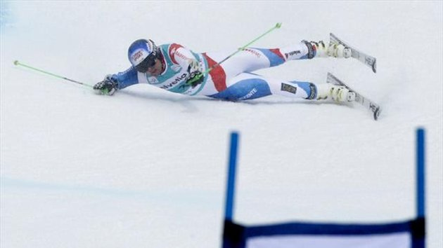 Switzerland's Daniel Albrecht (Reuters)