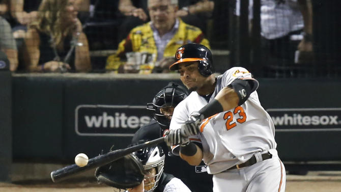 Cruz hits 33rd HR, Orioles sweep White Sox