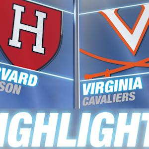 Harvard vs Virginia | 2014-15 ACC Men's Basketball Highlights