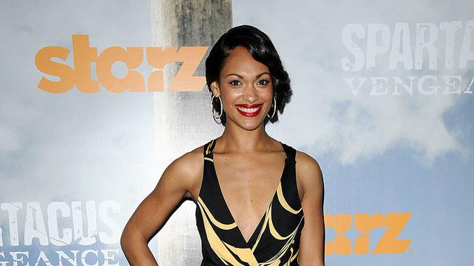 "<a href=""/baselineperson/3813046"">Cynthia Addai-Robinson</a> attends the Starz Original Series ""Spartacus: Vengeance"" Premiere Event at ArcLight Cinemas Cinerama Dome on January 18, 2012 in Hollywood, California."