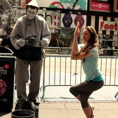 Street Performance Yoga