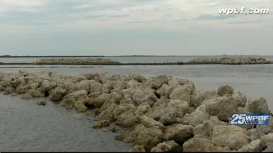 Waterfront protection project under way at Fort Pierce Marina