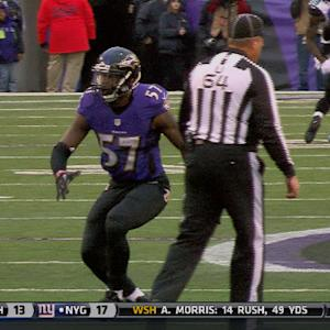 WK15:  Baltimore Ravens linebacker C.J. Mosley highlights
