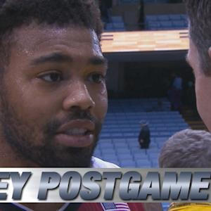 NC State's Trevor Lacey On Huge Win Over UNC