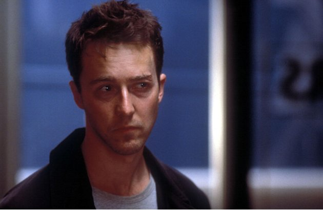 Fight Club 20th Century Fox Production Photos 1999 Ed Norton