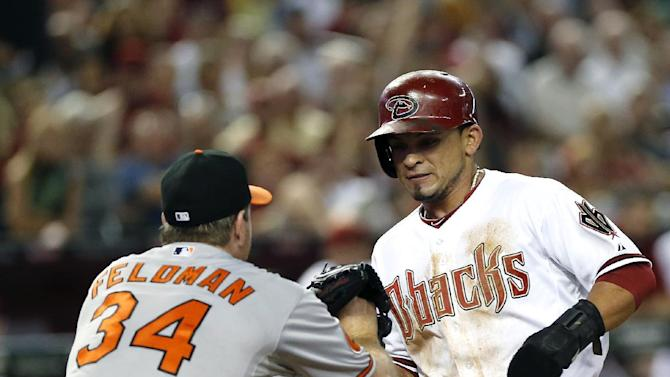 Eaton's HR lifts D-backs to 7-6 win over Orioles