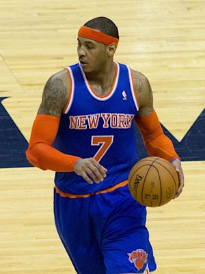 Carmelo Anthony Tells Los Angeles Lakers, NBA He's 'Not Going Nowhere' in 2014