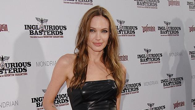 Angelina Jolie's 15 most memorable red carpet looks Inglourious Basterds