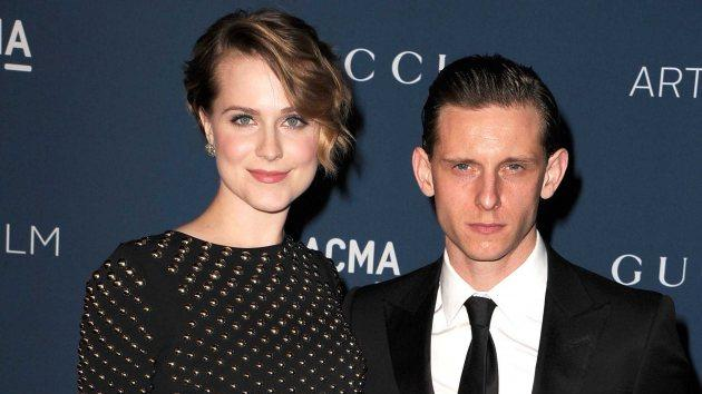 Jamie Bell and Evan Rachel Wood arrives at the LACMA 2013 Art + Film Gala at LACMA on November 2, 2013 -- Getty Images
