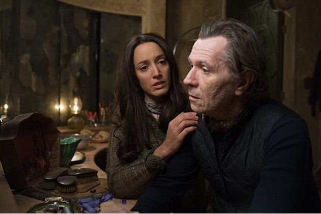 The Book of Eli Production Photos 2010 Warner Bros. Jennifer Beals Gary Oldman