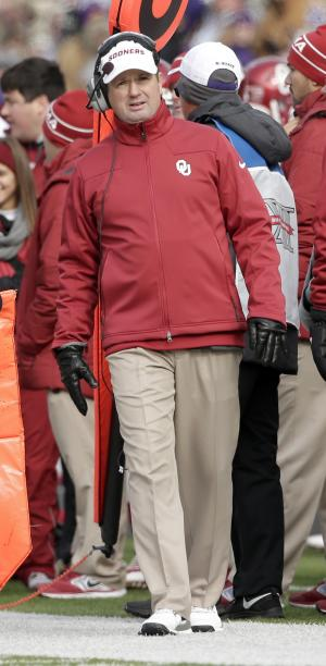 Stoops stands alone as Oklahoma's winningest coach
