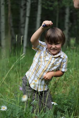 This undated photo provided by the family via Park City Medical Center shows Carson Dean Cheney, 4, who died July 5, 2012 after a large tombstone fell and hit the boy while he and his family were visiting a historic cemetery in the Utah ski resort town of Park City. (AP Photo/Park City Medical Center)