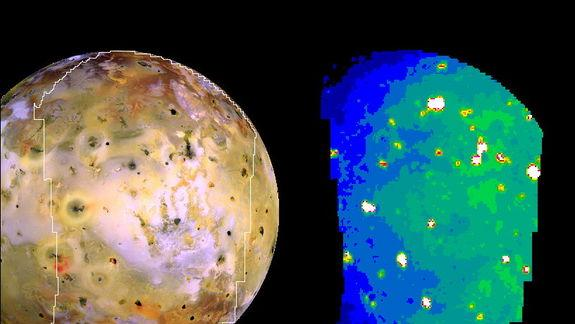 Volcanic Eruptions on Jupiter's 'Pizza Moon' Io Spotted from Earth