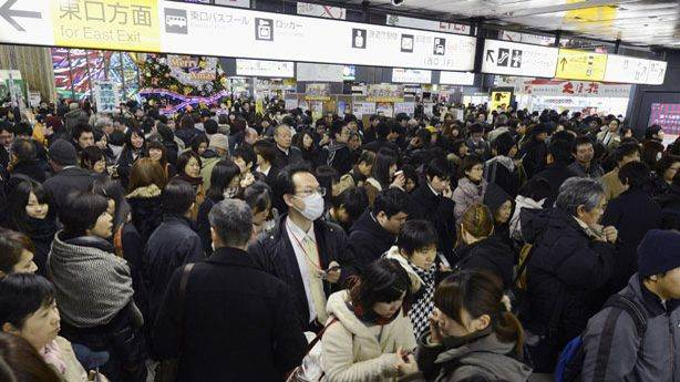 Japan Hit By Small Tsunami After 7.3 Earthquake