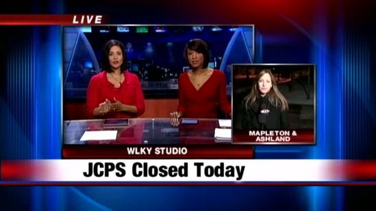 JCPS closed due to road conditions