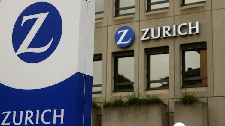The logo of Zurich Insurance Group is seen at the company's headquarters in Zurich
