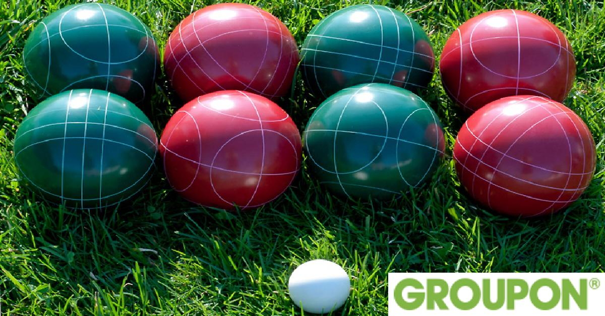 55% Off on 10-Piece Bocce Ball Set