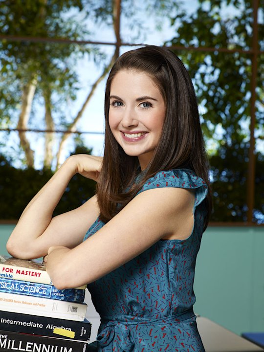 "Alison Brie stars as Annie in ""Community."""