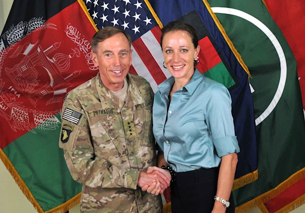 This July 13, 2011, photo made available on the International Security Assistance Force's Flickr website shows the former Commander of International Security Assistance Force and U.S. Forces-Afghanist