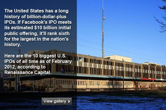 10 biggest US IPOs
