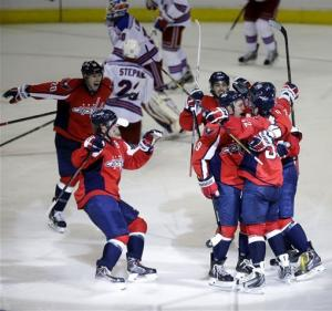 Capitals top Rangers 1-0 in OT for 2-0 series lead