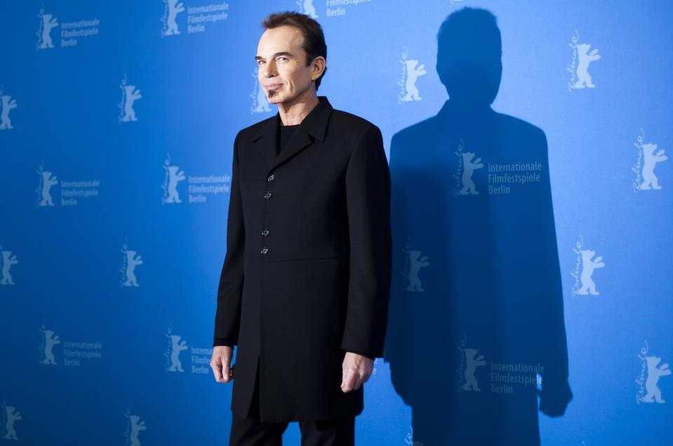 Director Billy Bob Thornton poses for the photo call of the film Jayne Mansfield's Car at the 62 edition of the Berlinale, International Film Festival in Berlin Monday, Feb. 13, 2012. (AP Photo/Markus Schreiber)