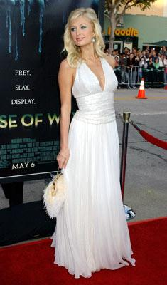 Paris Hilton at the Westwood premiere of Warner Bros. Pictures' House of Wax