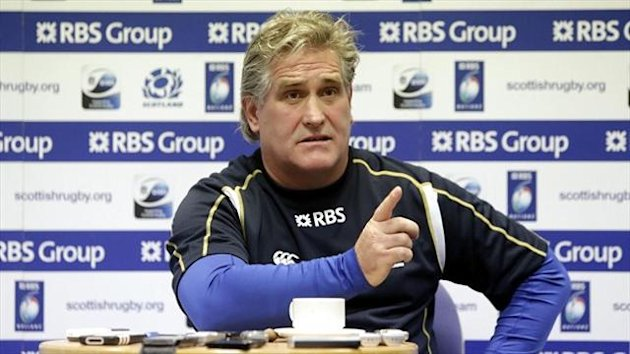 Scotland's interim head coach Scott Johnson is preparing for his final five games in charge of the Dark Blues.