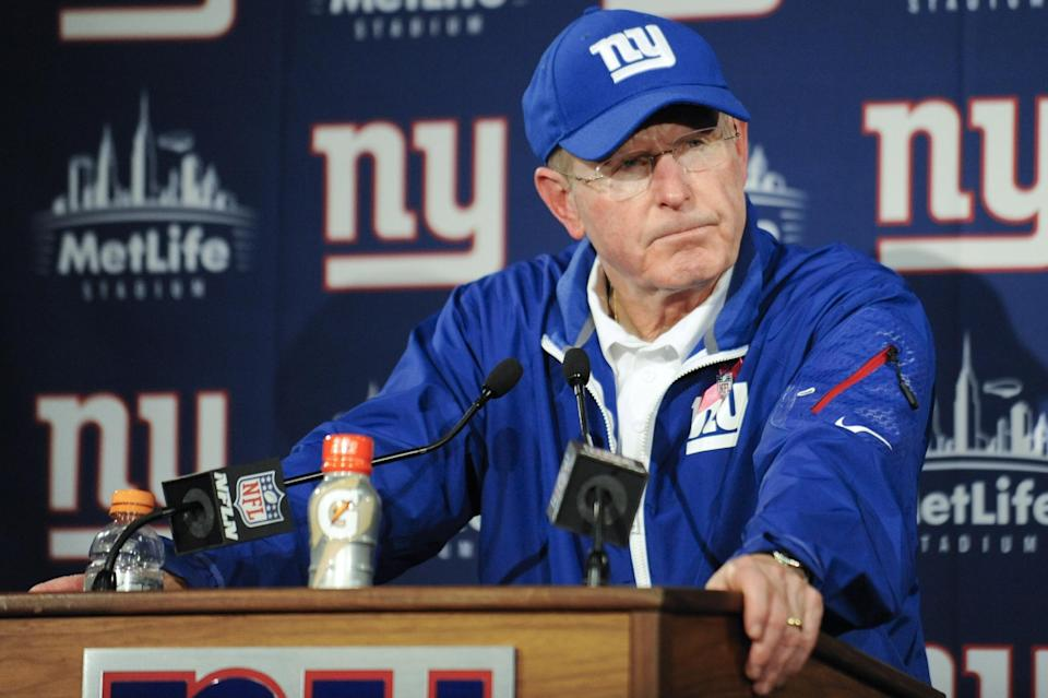 Tom Coughlin says stop blaming Eli for 0-5 record