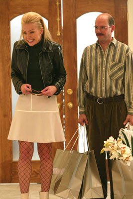 Portia De Rossi and David Cross