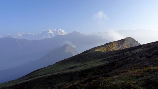 View from the path to Chandrashila
