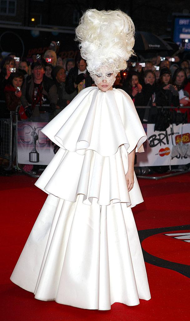 Lady Gaga Brit Awards