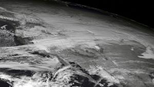Major US Winter Storm Spotted from Space