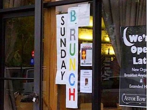 B is for Brunch health inspection rating