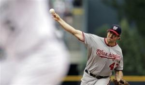 Ohlendorf wins Nationals debut, 5-1 over Rockies