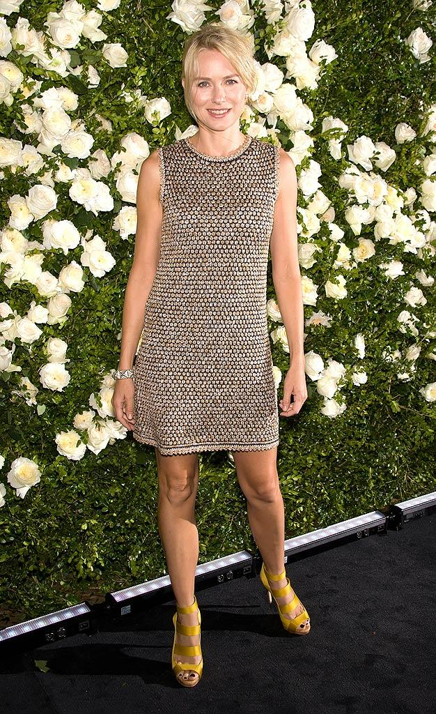 Naomi Watts Chanel Dinner