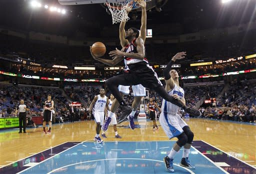 Trail Blazers Hornets Basketball