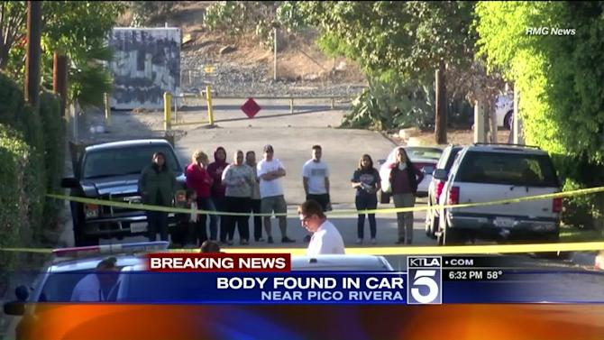 Woman Found Dead in Container Inside Parked Car Near Pico Rivera; Homicide Detectives Investigating