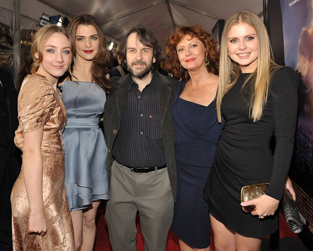 The Lovely Bones LA Premiere 2009 Saoirse Ronan Rachel Weisz Peter Jackson Susan Sarandon Rose McIver