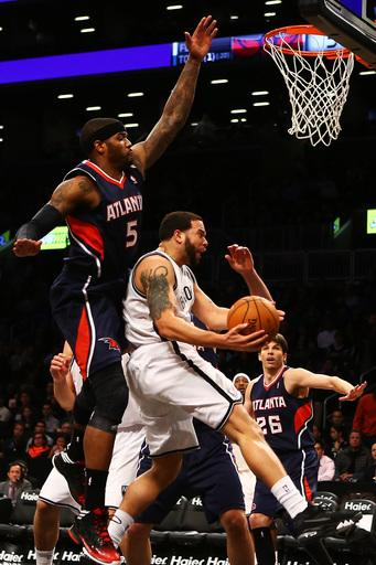 Nets beat Hawks 94-89 for home-and-home split