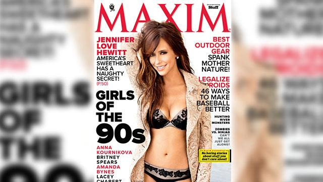 Jennifer Love Hewitt Steams Up Maxim
