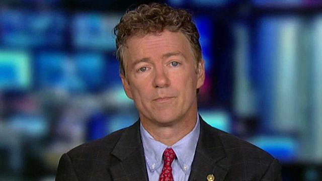 Rand Paul reacts to tense exchange with Hillary Clinton