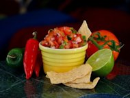 Use pico de gallo on a variety of dishes to brighten a flavor or give that extra punch of contrast between hot and cold.
