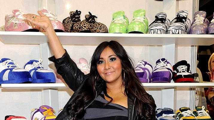 Snooki SlippersMAGIC Show