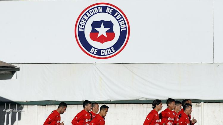 Chile miners seek to give boost to World Cup team