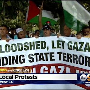 Israel, Hamas Agree To 12-Hour Cease-Fire As Major Protests Rage In LA
