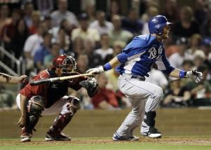 Gordon hits leadoff homer for Royals