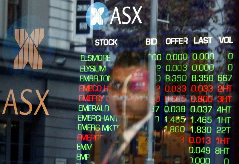 Australia shares hold near nine-month peak, NZ hits record high