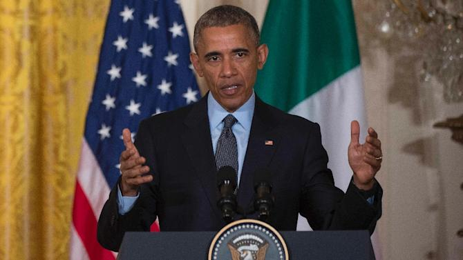 US President Barack Obama says climate change poses the single biggest threat to the world
