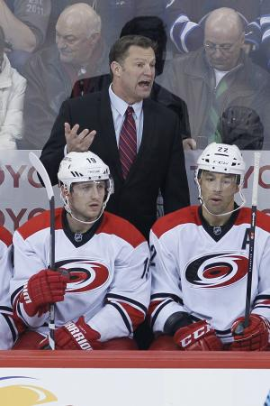 Hurricanes fire Muller amid playoff drought
